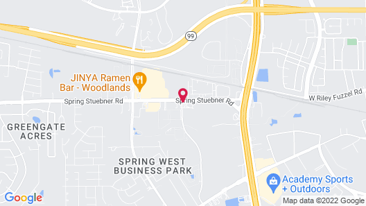 Holiday Inn Express & Suites Houston North - Woodlands Area Map