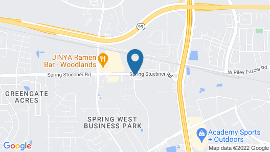 Holiday Inn Express & Suites Houston North - Woodlands Area, an IHG Hotel Map