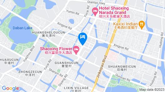 Fulinmen Business Hotel Map