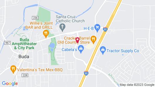 Fairfield Inn & Suites by Marriott Austin Buda Map