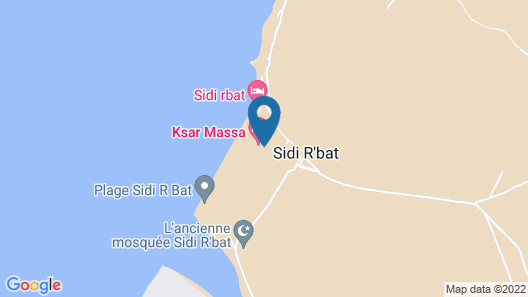 Ksar Massa Map