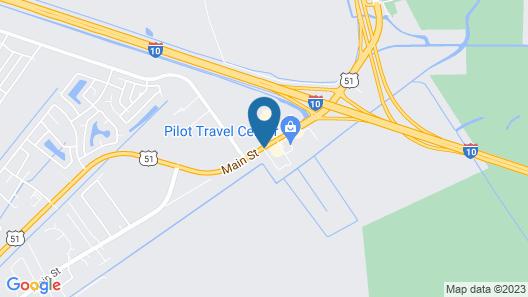 Best Western La Place Inn Map