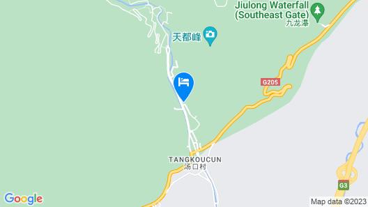 Huangshan Jinpu Dongyi Hotel Map