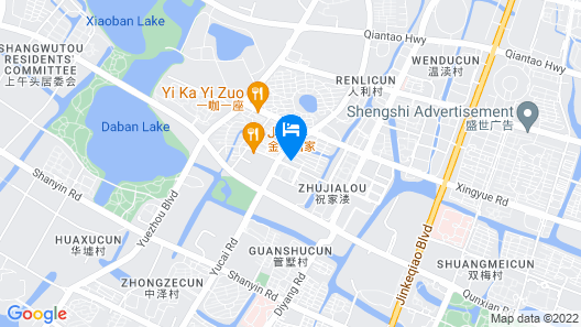 Shaoxing Flower Hotel Map