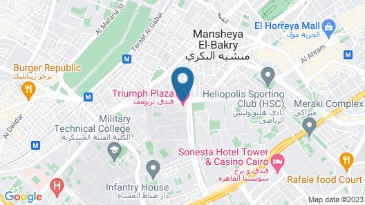Triumph Plaza Hotel Map