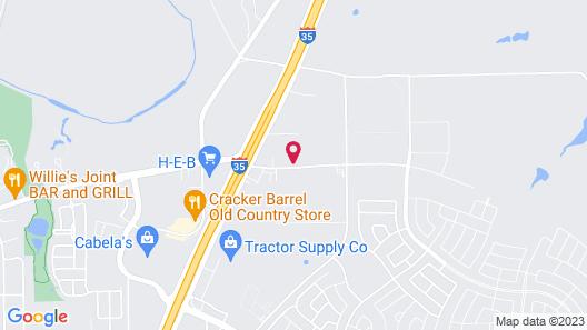 Candlewood Suites Buda - Austin SW, an IHG Hotel Map