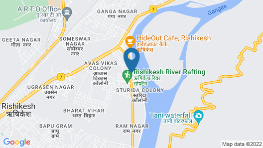 GANGA KINARE- A Riverside Boutique Hotel Map