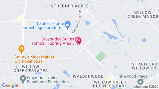 Staybridge Suites Tomball - Spring Area, an IHG Hotel Map