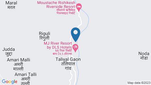 Camp Aquaforest Rishikesh Map