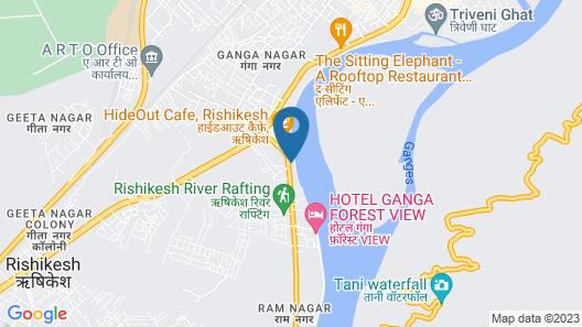 Shanti Residency Ganga View Map