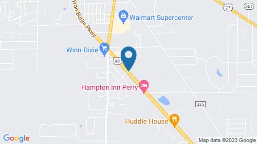 Econo Lodge Perry Map