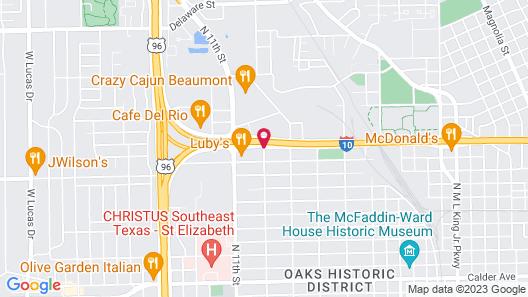 HomeBridge Inn and Suites Map
