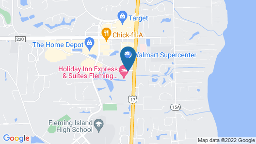 Holiday Inn Express & Suites Fleming Island, an IHG Hotel Map