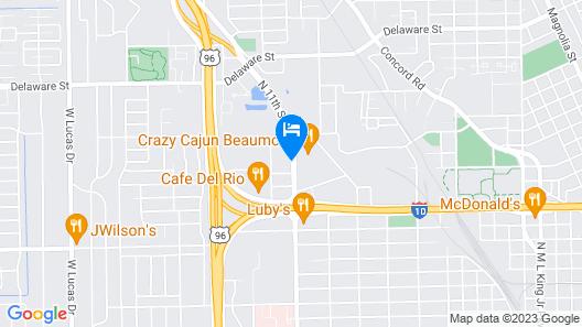 Days Inn by Wyndham Beaumont Map