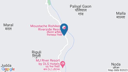 Veda5 Ayurveda And Yoga Retreat Map