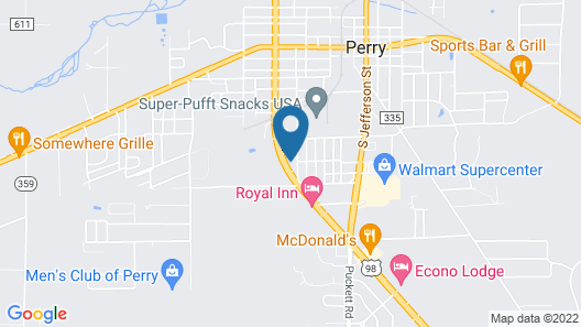 Westgate Motel and Campground Map