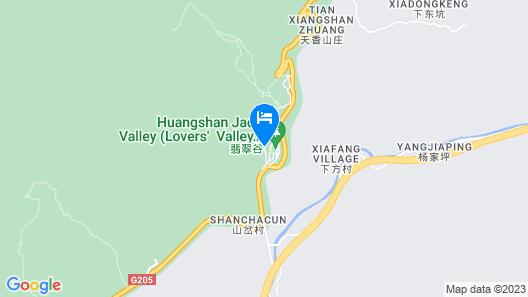 Huangshan Xingzhe Inn Map