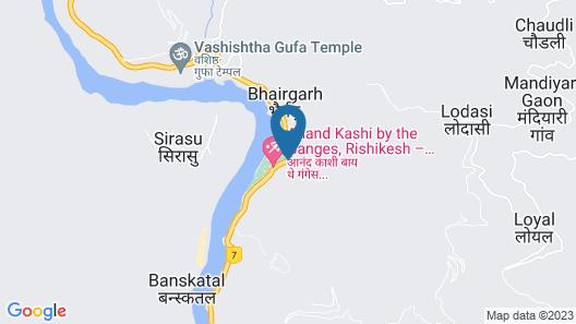 The Roseate Ganges Rishikesh Map