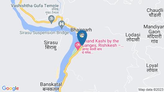 V Resorts Green Ganga Camp Map