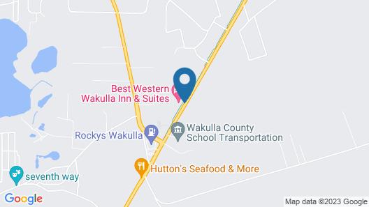 Best Western Wakulla Inn & Suites Map