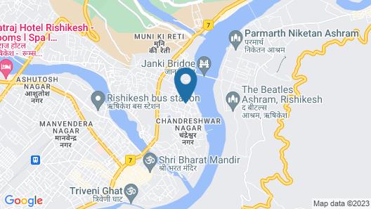 Hotel Indira Nikunj Map