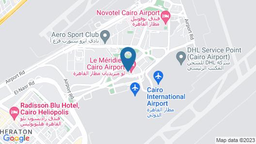 Le Méridien Cairo Airport Map
