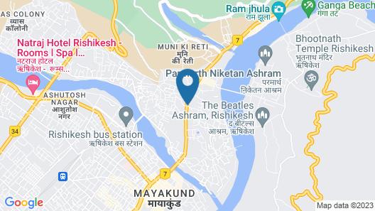 Hotel Trihari Map
