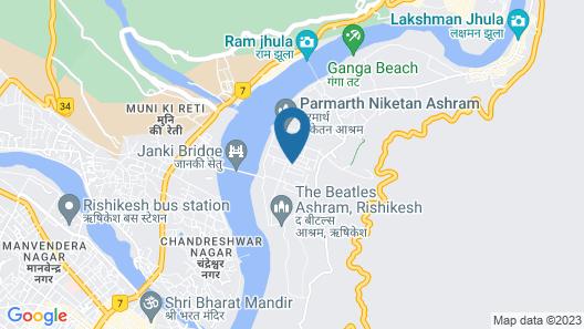 Uttaranchal Tourist Guest House Map