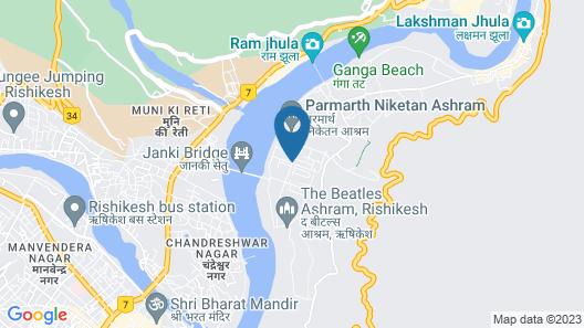 OYO 782 Hotel Yog Vashishth Map