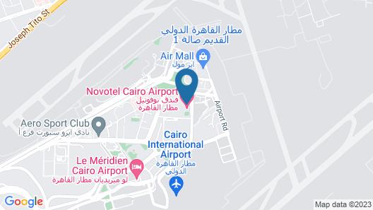 Novotel Cairo Airport Map