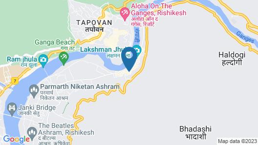 Hotel Shiva Yog Sthal Map