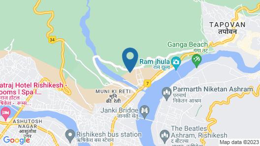Sterling Palm Bliss - Rishikesh Map