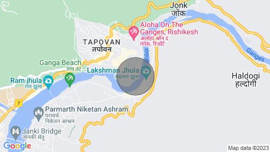 Sneha Home Stay With Ganga River, Amazing Mountain & Laxman Jhula Bridge View.. Map
