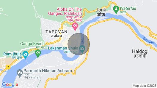 Private Room Near Laxman Jhula Map