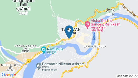 Hotel Ganesha Inn Ganga View Map