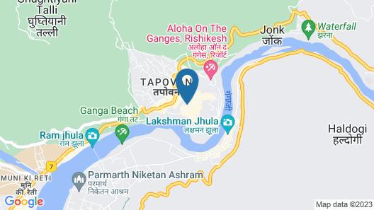 UbEx Home Rishikesh Map