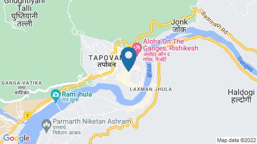 Divine Ganga Cottage Map