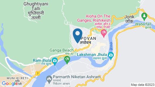 Moustache Rishikesh Map