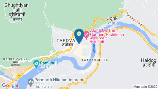 Comfort Hotel Dewa Retreat Map