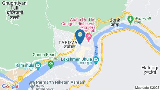 HOTEL YOG TAPOVAN Map