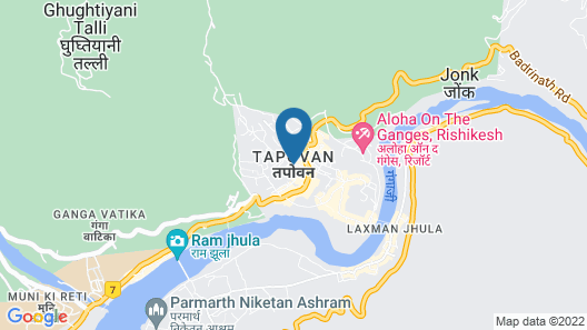 OYO 23439 Tapovan Heights Camp & Resort Map
