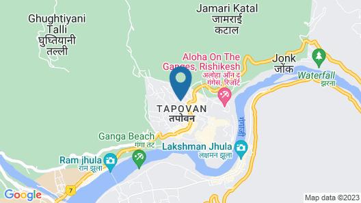 Backpacker Panda Rishikesh Map