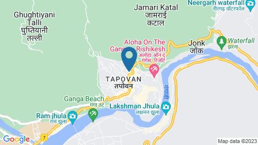 Rishikesh Grand By Lujo Hotels Map