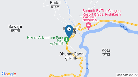 The Grand Shiva Resort & Spa Map
