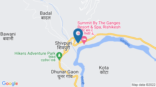 Summit By The Ganges Beach Resort & Spa Map