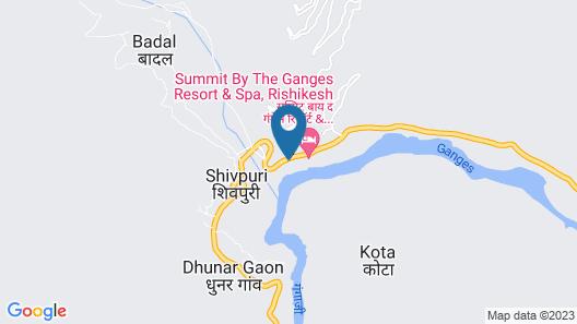 Namami Ganges Resort Map