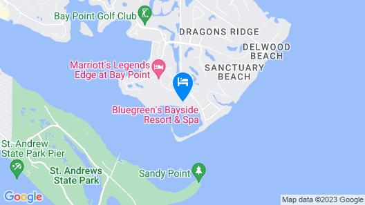 Sheraton Panama City Beach Golf & Spa Resort Map