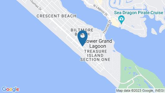 Beach House - Sandy Dreams by Panhandle Getaways Map