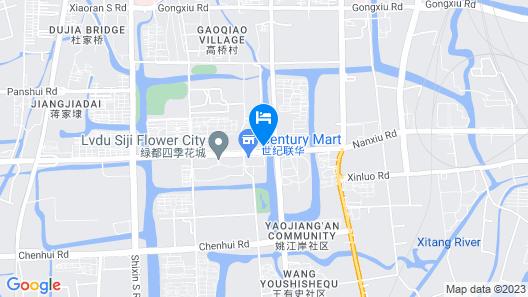 Hua Rong Business Hotel - Hangzhou Map