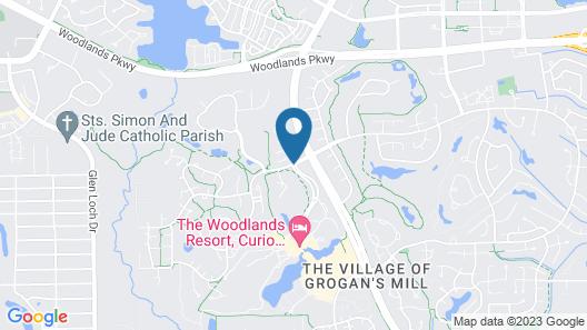 The Woodlands Resort Map